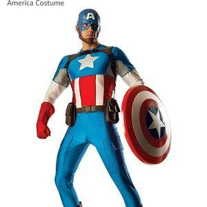 Marvel Grand Heritage Captain america costume